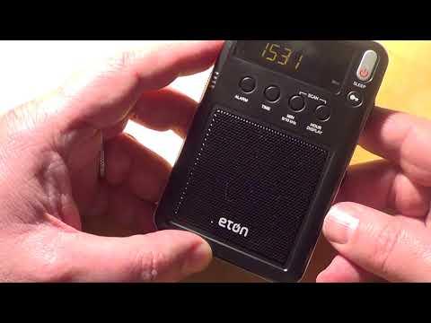 Review of the Eton Mini Grundig Edition AM FM Shortwave portable radio