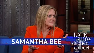 Samantha Bee Has Committed Grand Theft Auto