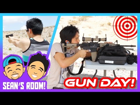 Shooting Real Guns!
