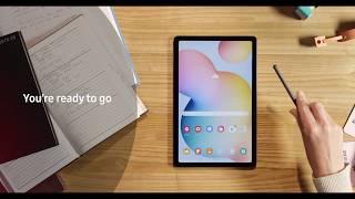 01. Samsung Galaxy Tab S6 Lite - Setting up