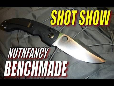 Nutnfancy SHOT Show: Benchmade!