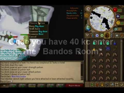 Merch earn- Ultimate BANDOS BOSS guide [ MELEE ]