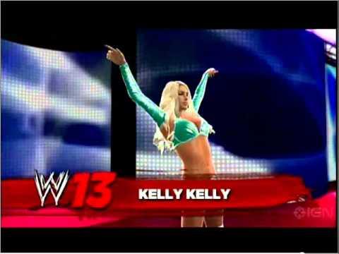 WWE 13 OFFICIAL DIVAS ROSTER