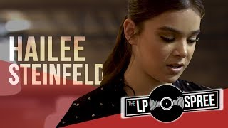 Hailee Steinfeld Grew Up Listening To Which Bands?! | The LP Spree
