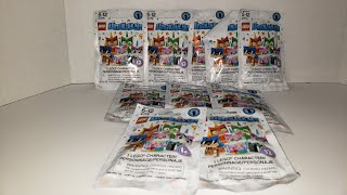 Opening 10 Lego unikitty blind bags with funny bunny