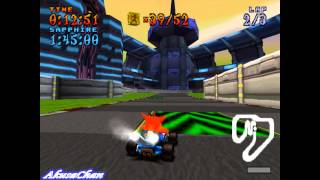 CTR: Crash Team Racing (PS1) - Part [64/65] - Relic Race - Turbo Track (PL)