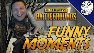 PUBG Funny Moments #40: Blind Brian & The Worst Chicken Dinners Ever (PlayerUnknown's Battlegrounds)