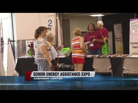 Senior energy assistance expo held at Cashman Center