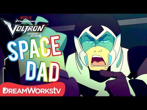 Shiro's Best Space Dad Moments   DREAMWORKS VOLTRON LEGENDARY DEFENDER