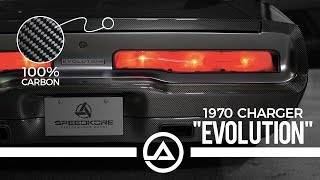 """$650,000 """"Evolution""""  Carbon Fiber Charger   1000 HP Demon Motor"""