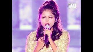 KPOP WORLD FESTIVAL 2016,Changwon: Excellent vocal: PRIYANKA(INDIA): Song-You & I-Park Bom(2NE1)