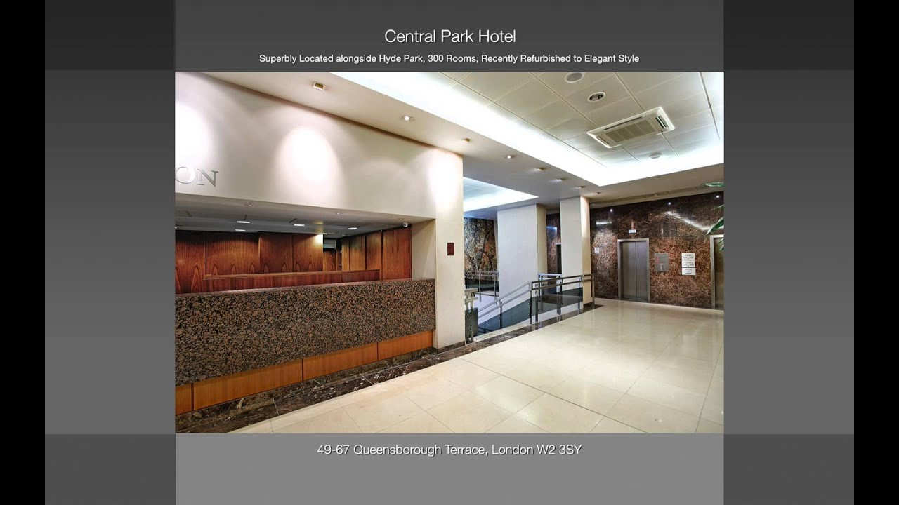 Central park hotel bayswater london w2 youtube for 43 queensborough terrace london w2 3sy