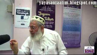 Yayasan Ta'lim: What Jihad Fisabilillah Means part 1 [10-03-13]