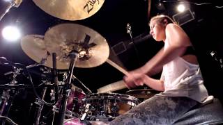 Lindsey Raye Ward - Sia - Chandelier (DRUMS ONLY)