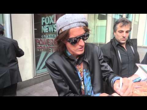 Legendary Aerosmith guitarist Joe Perry leaving Fox & Friends after promoting new memoir