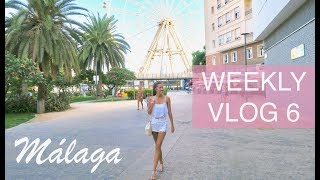 MOVING TO SPAIN - Weekly Vlog 6 - Flat Hunting in Málaga | natalie danza