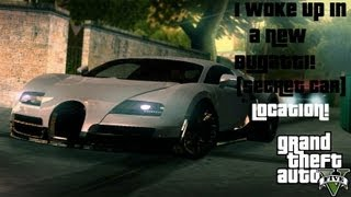 "GTA 5 - ""Bugatti Veyron"" (Adder) Secret Car Location! (GTA V Easter Egg Gameplay)"