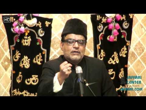 13th Safar 1434 Maulana Abid Bilgrami Night 3