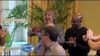 Rod Stewart coaching on American Idol (TV Broadcast) - Rare