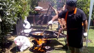 Asado al disco, para picar... (video completo)