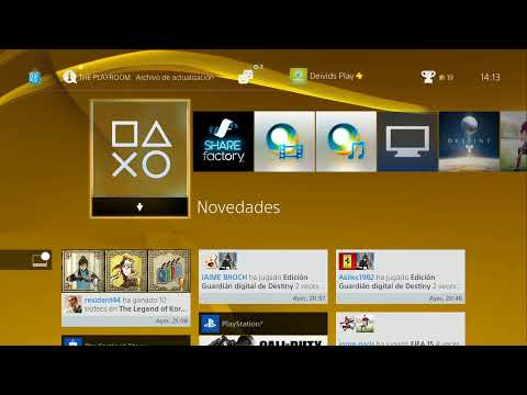 Detalles sobre la actualización 2.0 PS4