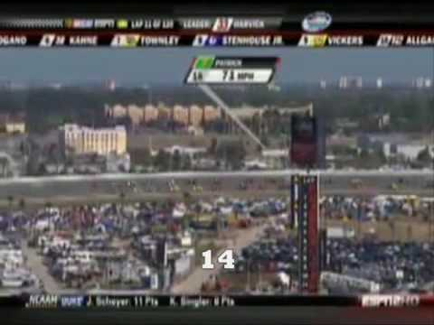 How Many Times Can You Say Danica In One Race? 2 Video