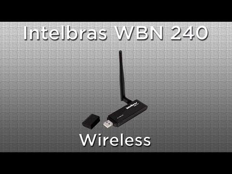 Intelbras WBN240 - adaptador USB/WiFi para internet sem fio e Kit Provedor