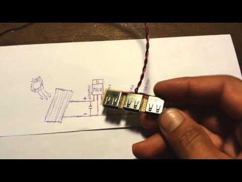 Cargador solar casero para dispositivos moviles