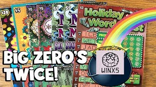 BIG PROFIT! Holiday Greetings, Money Madness, $100 or $200! ✦ LOTTERY SCRATCH OFF TICKETS