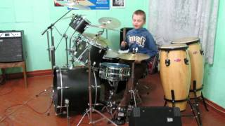 Devin Townsend - March Of The Poozers - Drum Cover - Drummer Daniel Varfolomeyev 11 years