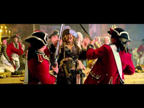 Pirates of the Caribbean: On Stranger Tides -  Jack's Escape Clip