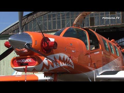 PAC P-750 XSTOL - Nowy Samolot Aeroklubu Gdańskiego