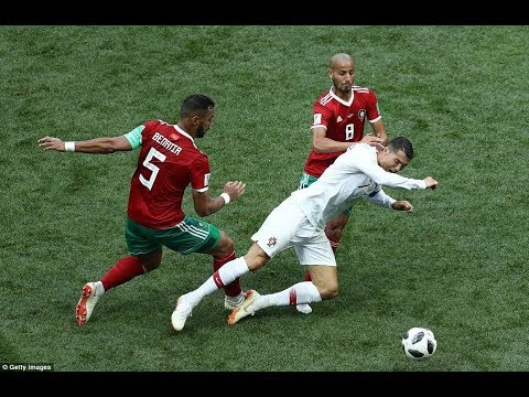Ronaldo Best Dive of World Cup 2018? ► How ronaldo won the game! ⚽ Football Reasons Why ⚽