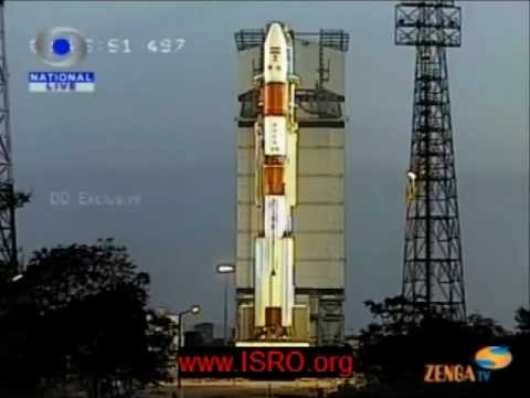 RISAT-1 Satellite launched using India's Polar Satellite Launch Vehicle [PSLV-C19 mission]