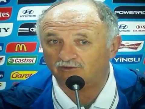 Luiz Felipe Scolari fala sobre a derrota do brasil  7 x 1 para a alemanha copa do mundo 2014
