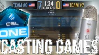 CS:GO CASTING HILARIOUS GAME (PRO CASTING)