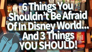 6 Things You Shouldn't Be Scared of in Disney World...and 3 Things You SHOULD Be Scared Of!