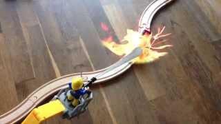 Feuerwehrmann Sam trifft Thomas und seine Freunde