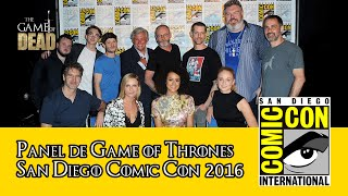 Game of Thrones | Panel Comic Con 2016 (Subtitulado)