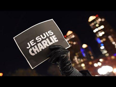 The world unites for #JeSuisCharlie vigils