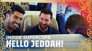Supercopa, here we go! Trip to Jeddah | INSIDE SUPERCOPA #1