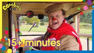 Mr Tumble's Vehicles Compilation | +15 Minutes!