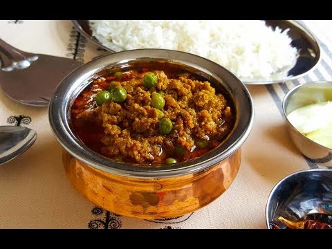 SPICY KEEMA RECIPE | KEEMA MATAR RECIPE | HEALTHY KEEMA CURRY