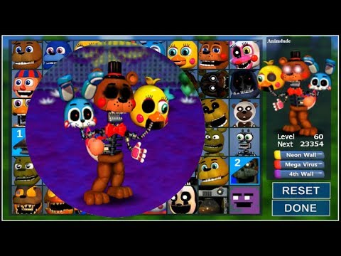 Adventure Project In FNaF World - A new animatronic! (Mod) #FNaF