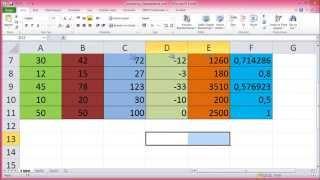 MS Excel'de Hücre Biçimlendirme