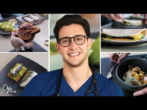 QUICK, TASTY, HEALTHY MEAL PREPS | 5 Meal Ideas for Busy People | Doctor Mike