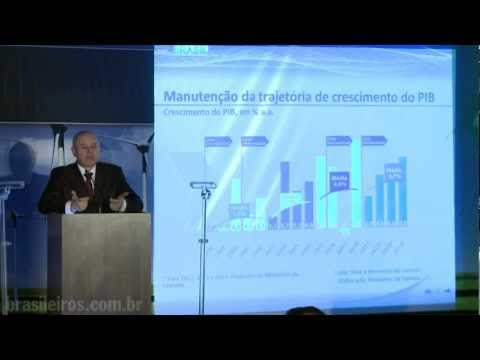 Palestra do ministro Guido Mantega parte 1