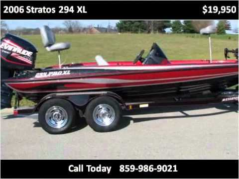 2006 Stratos 294 XL Used Cars Berea KY