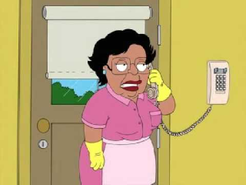 Family Guy - Consuela kicks Brian out of the house and admits stealing Stewie's play money
