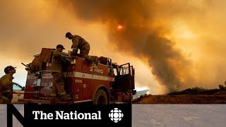 Largest fire in California's history still out of control